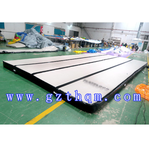 Wide Gymnastics Training Inflatable Gymnastics Mat Inflatable Air Tumble Trac Inflatable Tumbling Air Track