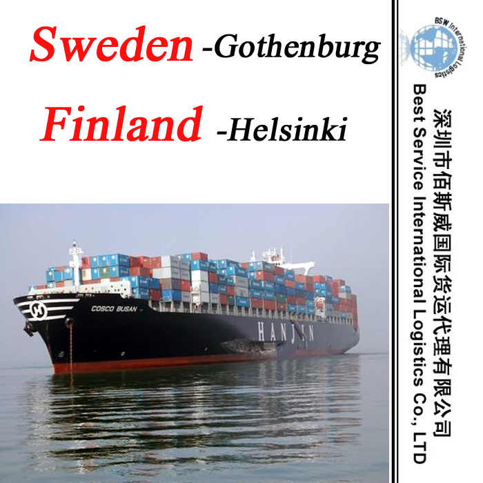 Freight Fowarder Shipment Gothenburg (Sweden) ; Helsinki (Finland) - Logistics Service