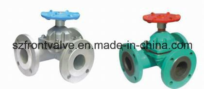 Cast Steel Flanged End Diaphragm Valve