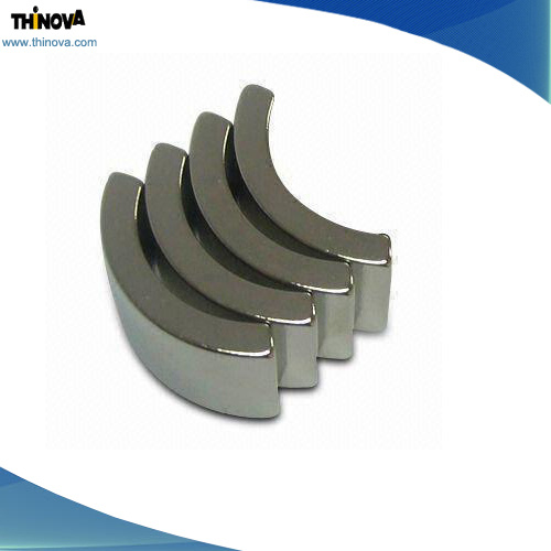 Sintered Custom Arc NdFeB Magnets for Sale
