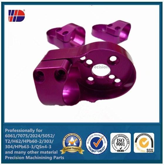 High Precision Custom Machined Anodized CNC Aluminium Machining Process