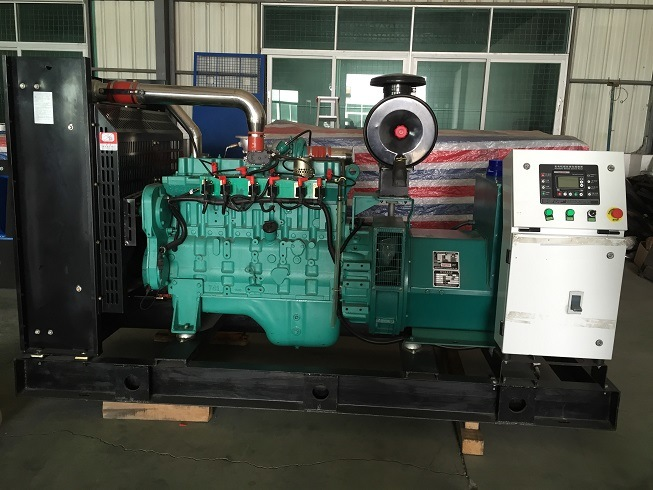 188kVA 150kw Rate Power Cummins Natural Gas Generator Set