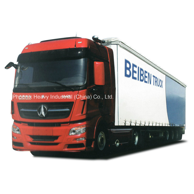420HP Beiben Truck V3 6X4 Tractor Truck with Mercedes Technology