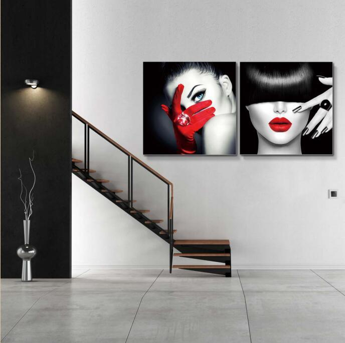 2016 Popular Modern Home Decoration Acrylic Oil Painting