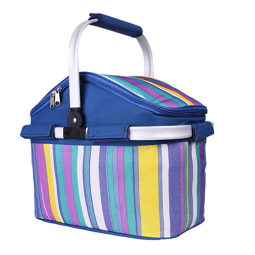 High Quality of Portable Cooler Basket for Travel and Camping