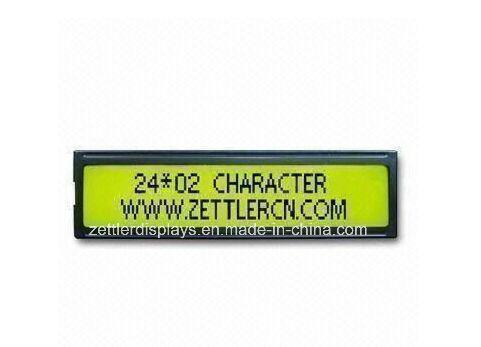 Stn Type LCD Display Module Character Display 24X2 Lines: (ACM2402C-FL-YBW)