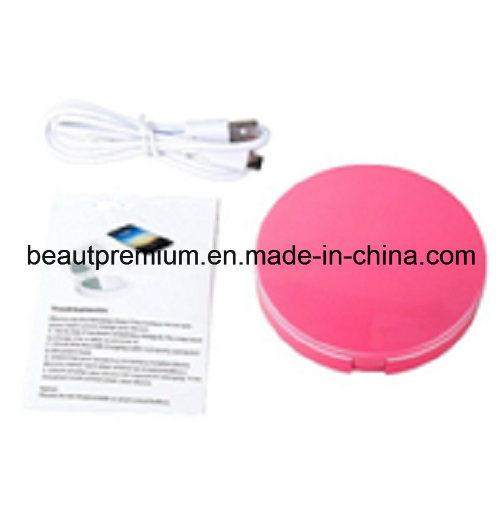 LED Mirror with Power Bank Plastic Mirror Round Mirror Double Mirror Pocket Mirror L′oreal Audit Mirror BPS002