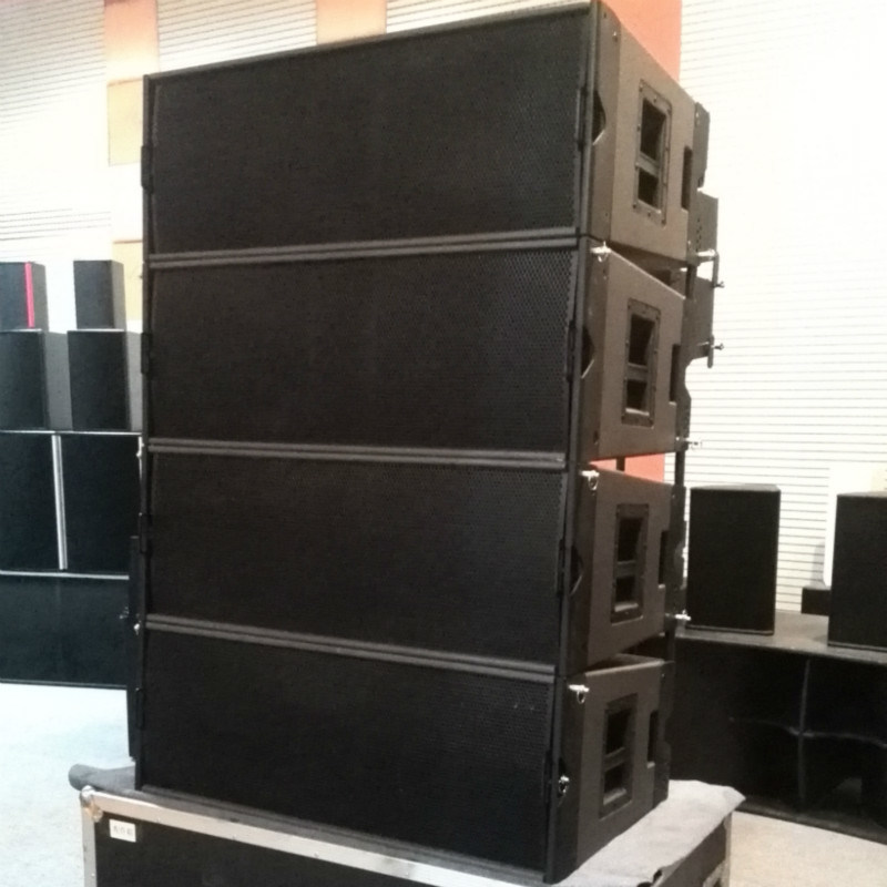 "Martin Style Dual 12"" 3-Way Line Array PRO Audio (LA-20)"