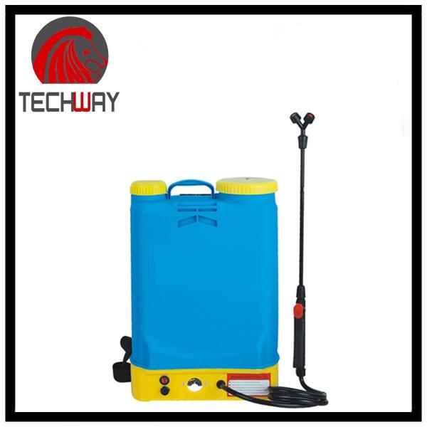 16L Battery Operated Sprayer, Knapsack Sprayer, Rechargeable Sprayer Pump