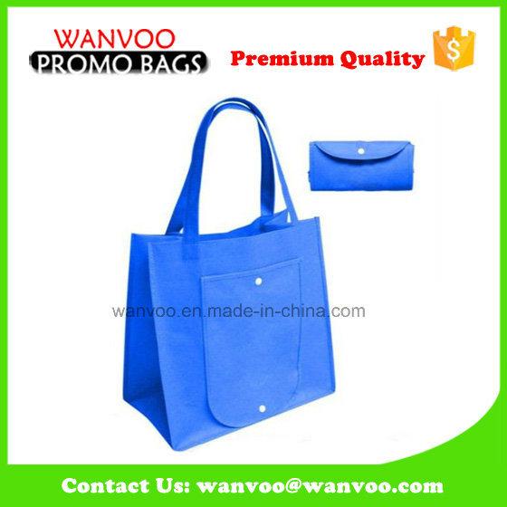 Promotion Foldable Non Woven Large Storage Wine Tote Bag Supermarket Shopping Handbag