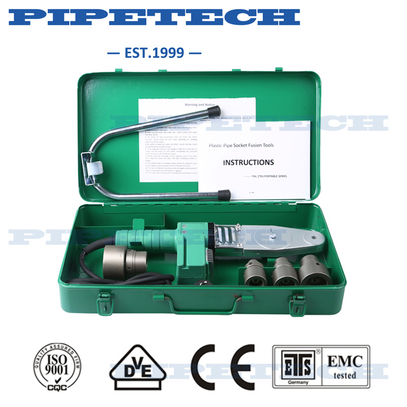 Ce Approved Intelligent PPR Pipe Socket Fusion Welding Machine