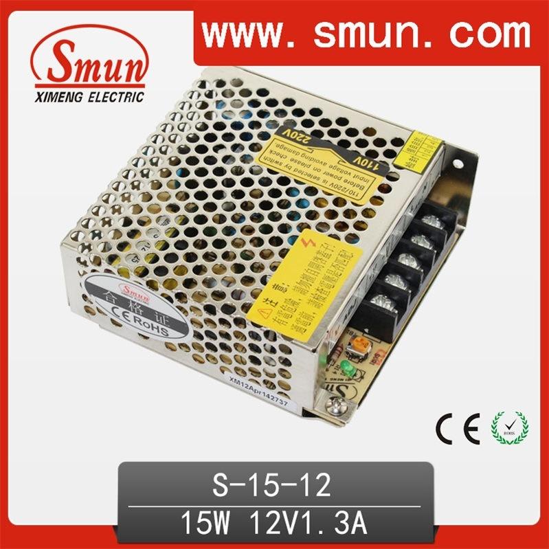 15W 12V 1.3A Single Output Switching Mode Power Supply PSU