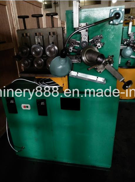 Double Locked Flexible Metal Tube Machine