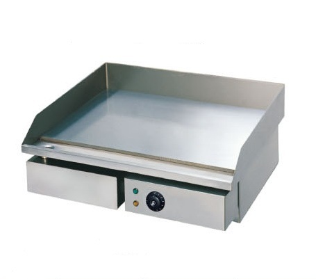 Electric Grill with Flat Plate for Restaurant and Buffet (GH-818)