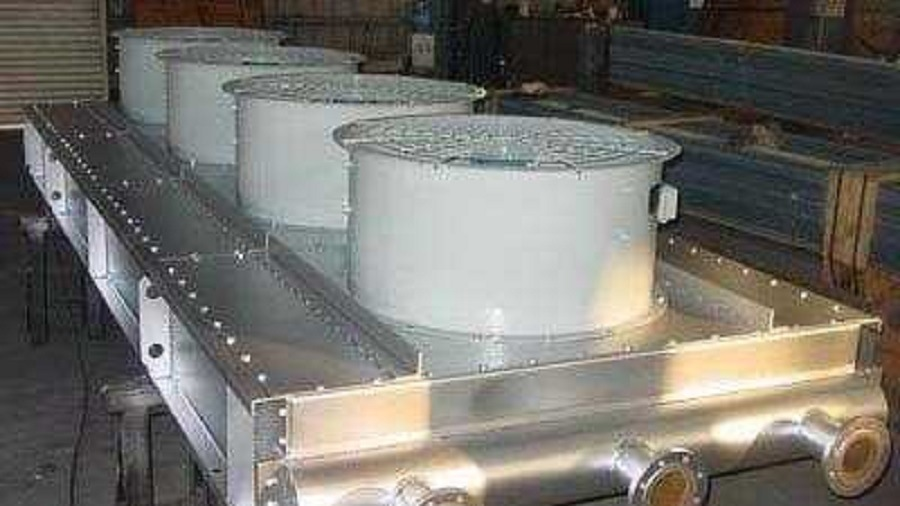 Plate Air Cooler Used for Petroleum, Industrial, Chemical, Metallurgy etc.