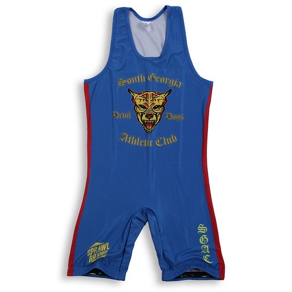 2017 Custom Heat-Transfer Wrestling Singlet
