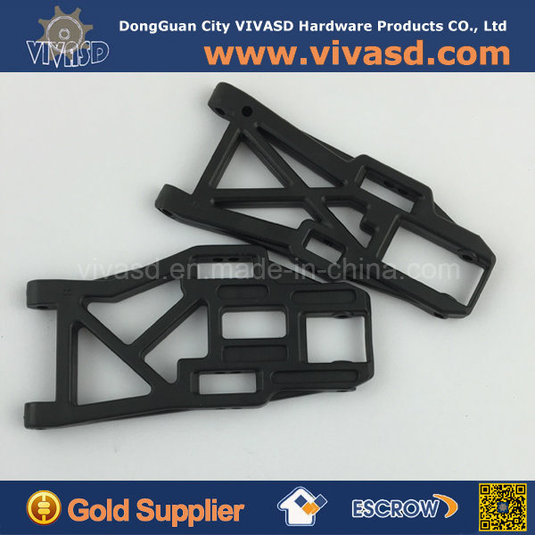 Black Plastic Material CNC Customize Parts RC Parts