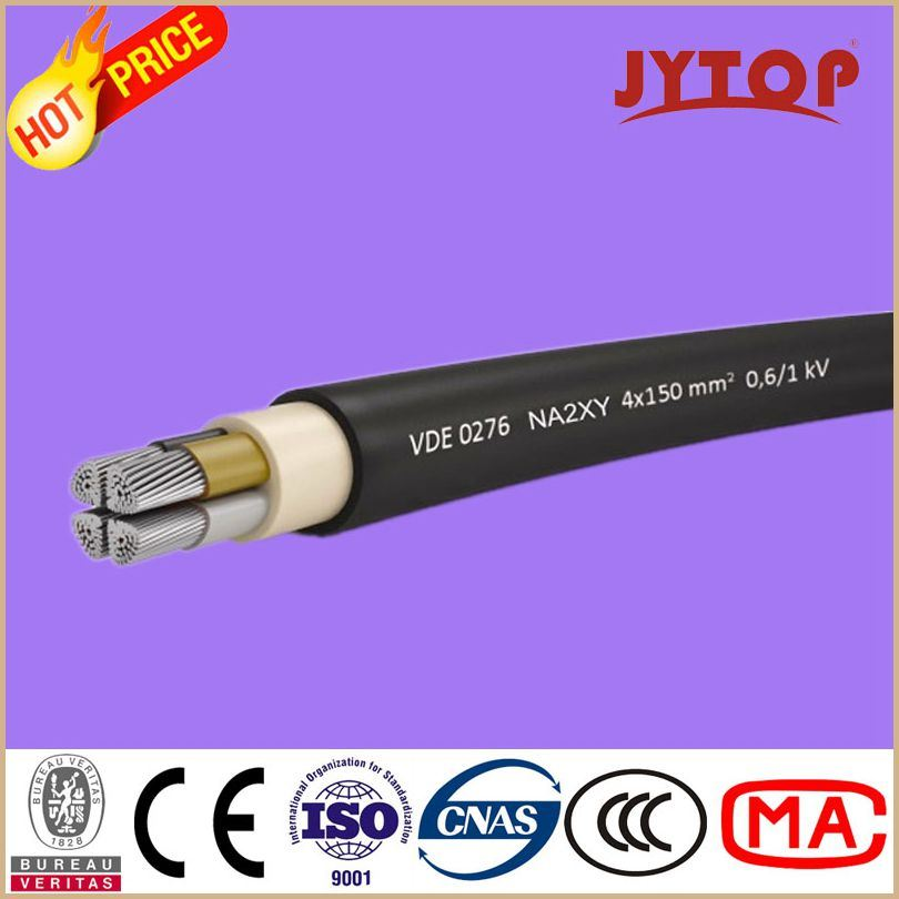 Yaxv Aluminum Cable 0.6/1 Kv XLPE Insulated Multi Core Cables