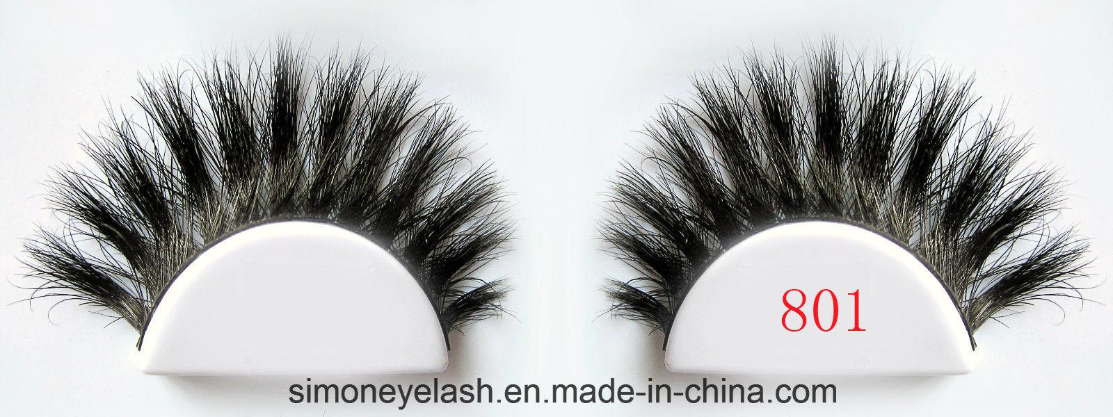 Cosmetic Package Box Real Horse Hair False Lashes Fake Eyelashes