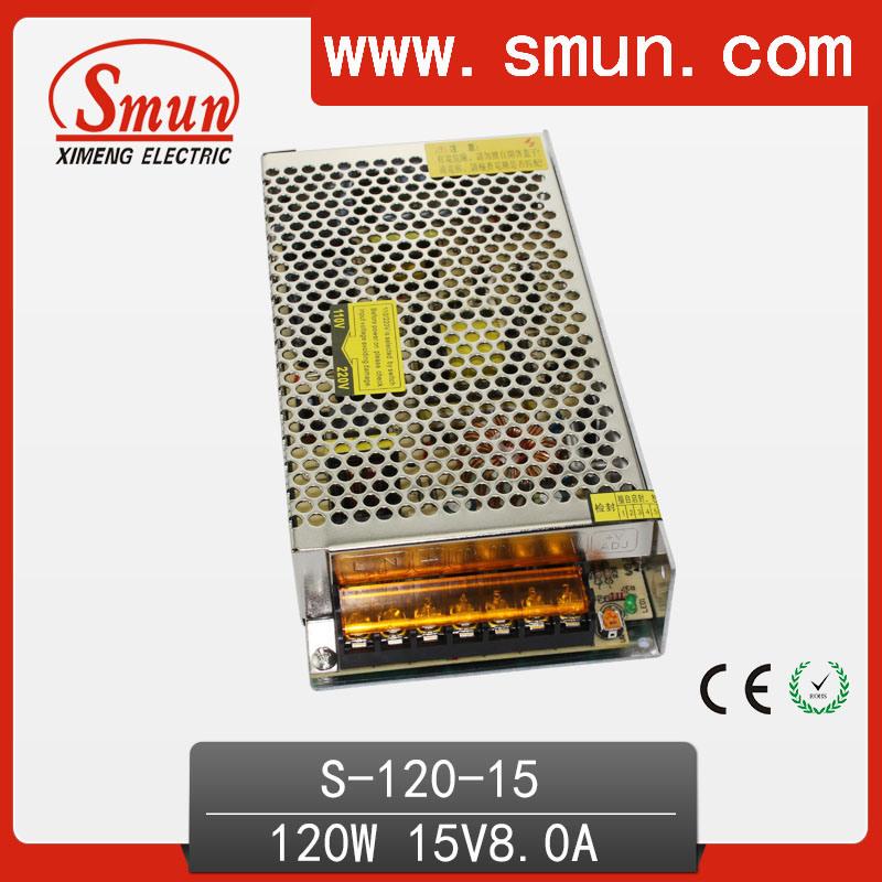 Small Volume Single Output Switching Power Supply 120W 12V 15V 24V 48V AC/DC Power Supply