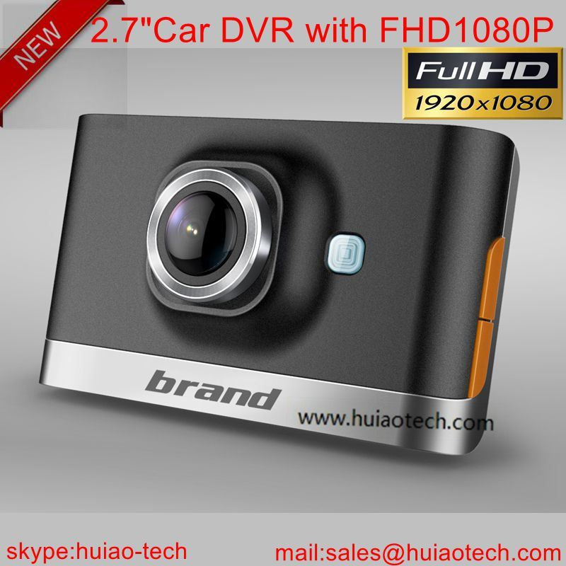 "2016 Private Housing Car Black Box Car DVR with 2.7"" LCD, Night Vision LED, H. 264 Car DVR-2726"