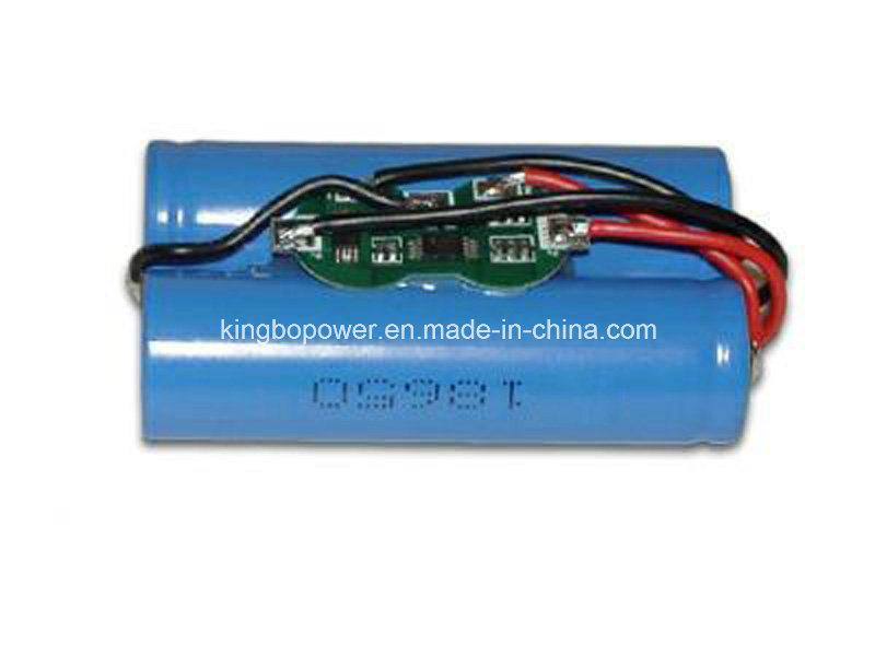 3.7V Lithium Battery Rechargeable Li-ion Battery (5800mAh)