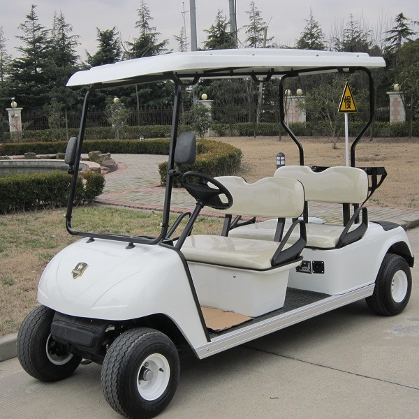 China produce ce all colors 4 seats electric golf cart dg for Golf cart garage door prices