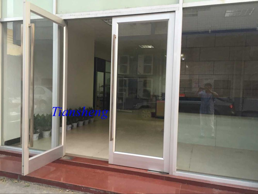 Aluminum Spring Door Floor Hinge Door for Commercial Building