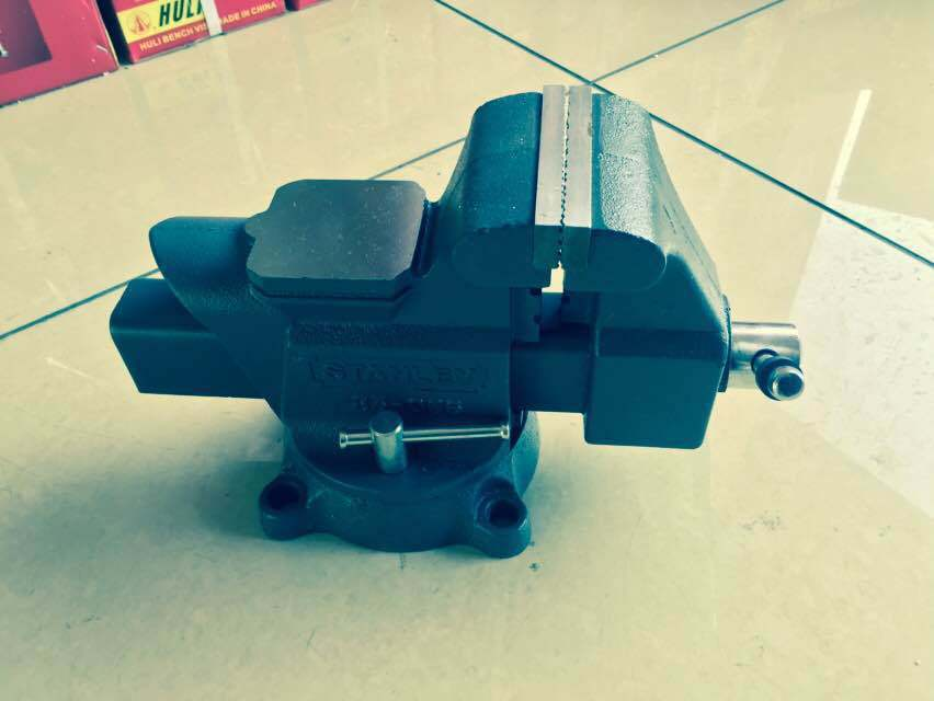 Super Heavy Duty Casting Steel Bench Vise Without Anvil (HL)