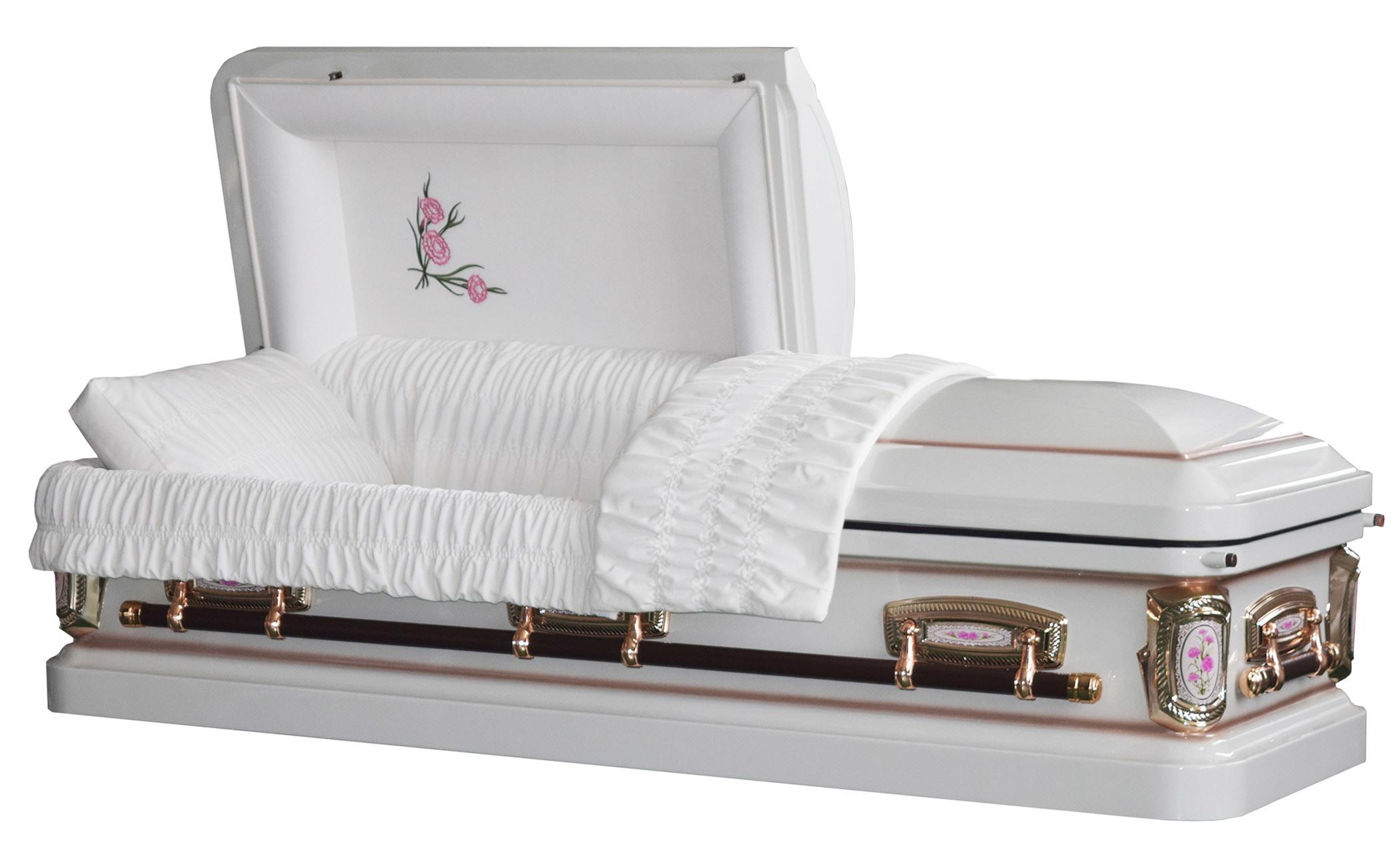 18 Ga Steel Primrose Casket for USA Market Funeral Casket