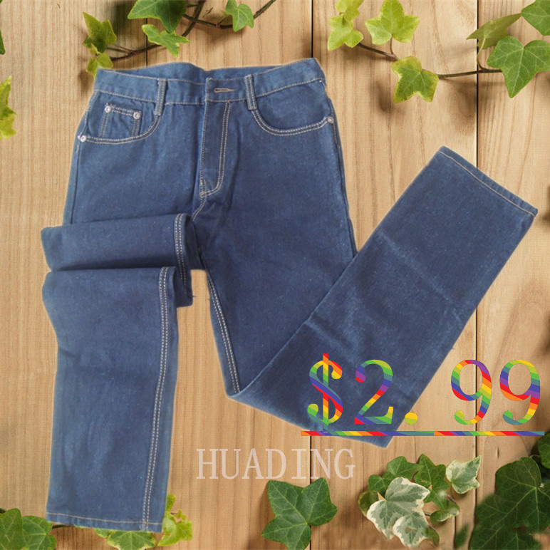 Popular Fashion Design Men′s Jeans with Embroidery on Waistband (HDMJ0069)