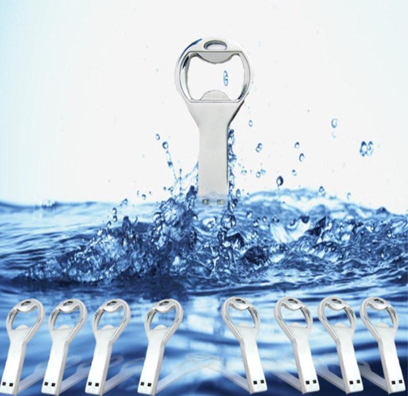 Water Proof Bottle Opener Metal USB Flash Memory