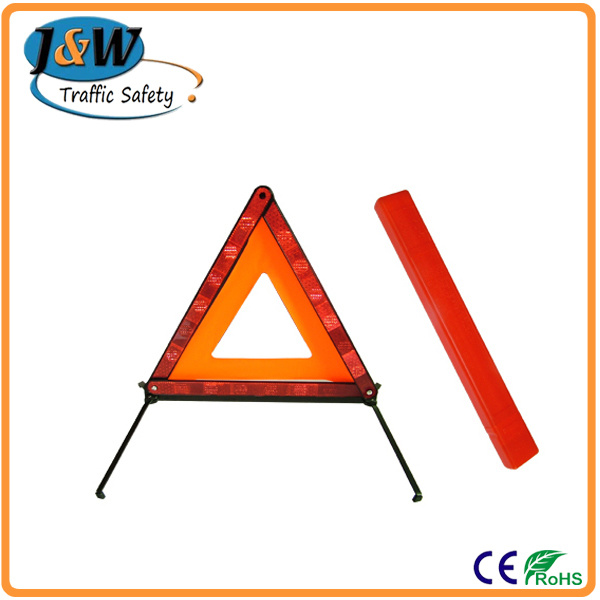 Cheapest Price Emergency Warning Triangle with Plastic Box