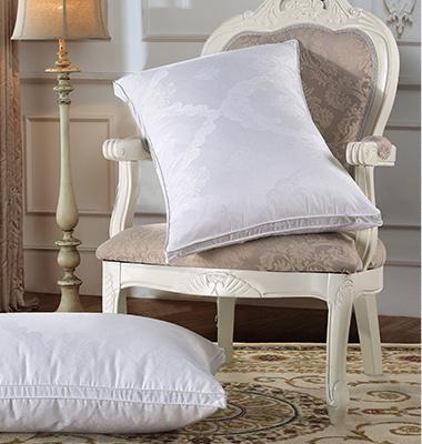 New Fashion Design White Goose Down Pillow for Home