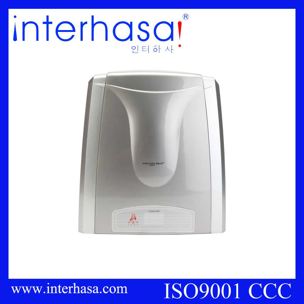 Wall-Mounted Sensor and Ce&RoHS Certification ABS Toilet Automatic Hand Dryer