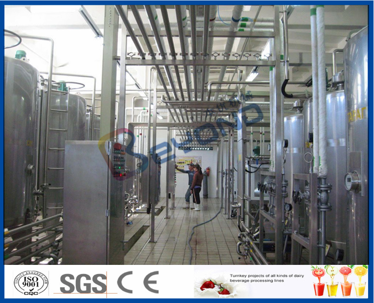 Turnkey Project Milk Production Line
