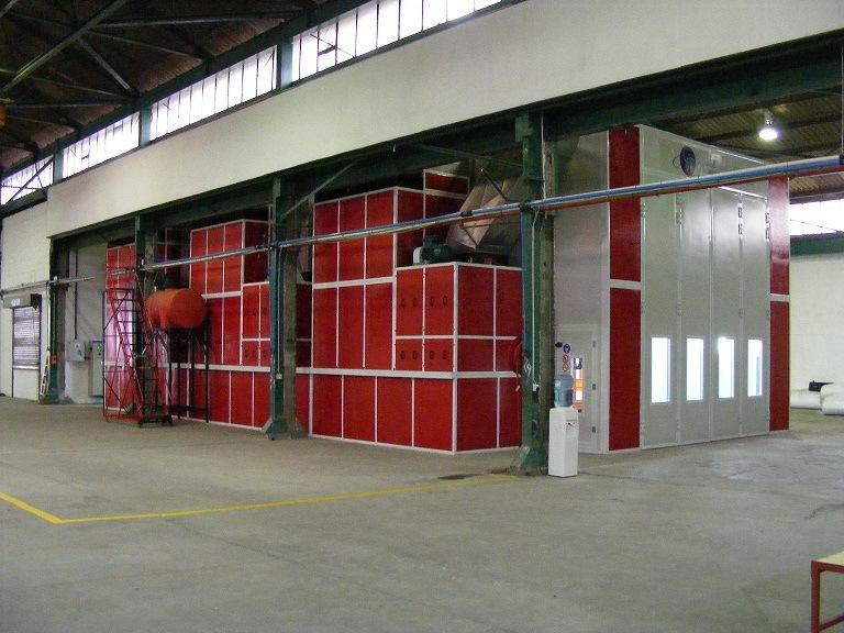 Bus Spray Booth for 18000*5000*5000 (Model: JZJ-FB-18)