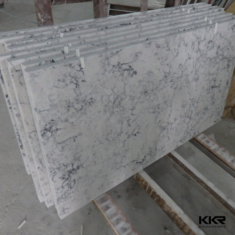 China Wholesale Marble Like Artificial Marble Stone Composite Quartz  Countertop   China Quartz Countertop, Quartz Stone Countertop