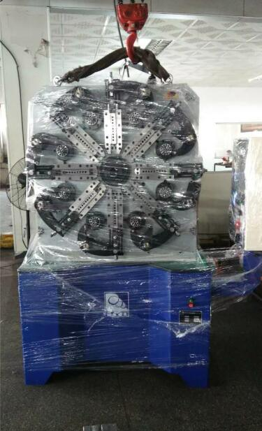 High-Speed Multi-Functional Hyd Computer Spring Machine & Spring Coiling Machine