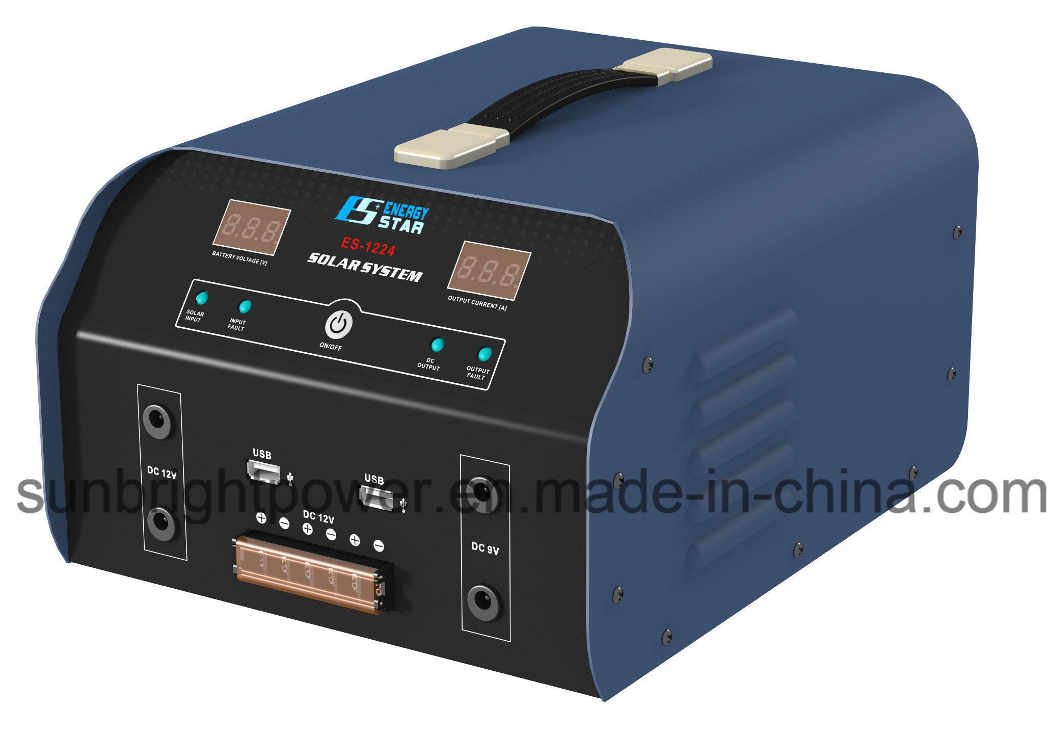 China High Quality Portable Solar Energy Home Generator System Es