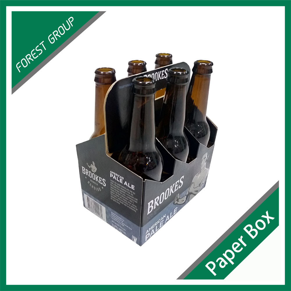 330ml 6 Pack Bottle Beer Carriers Box Wholesale