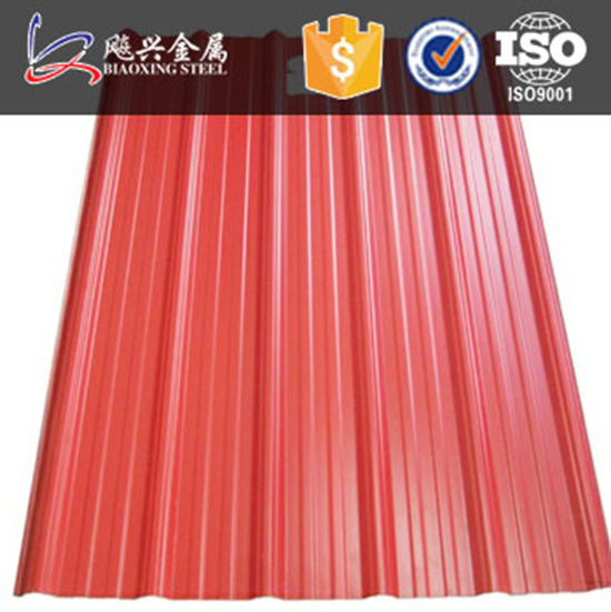 High Quality Colored Trapezium Roofing Sheet