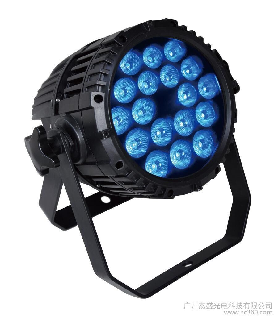 18*18W RGBWA+UV 6 In1 LED PAR Light with Zoom