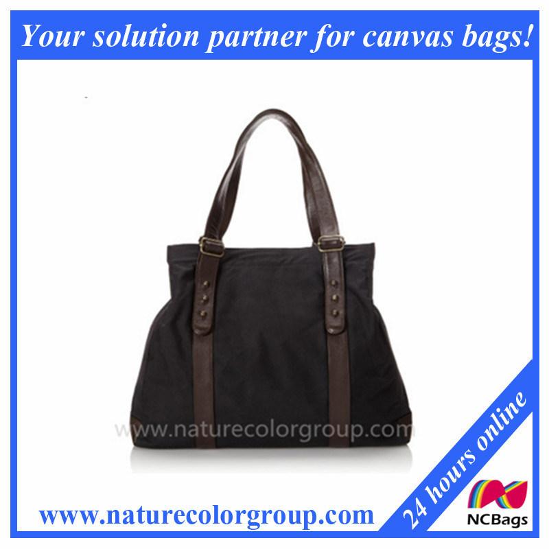 High Quality Waxed Tote Bag