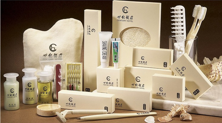 Hotel Amenity Set: Dentail Set, Shampoo, Body Wash, Lotion, Condition, Soap,