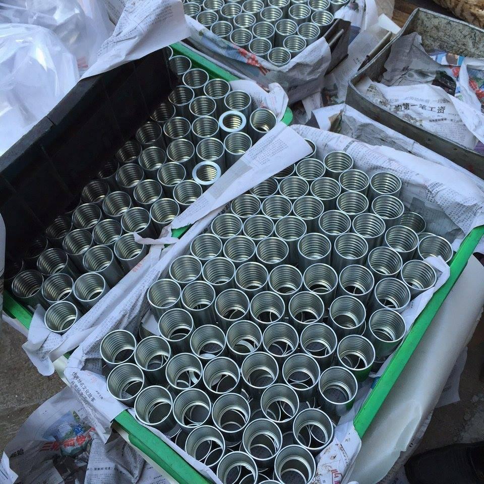 Manufacturer Price for Hydraulic Hose Ferrule (00400)