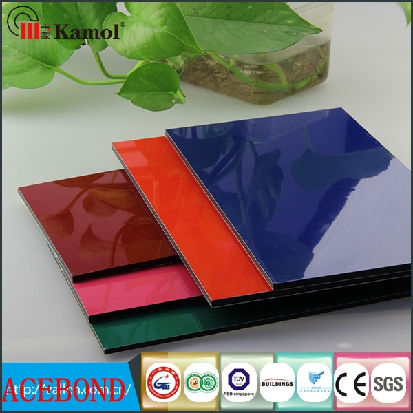 PVDF Coated ACP Exterior Wall Panel Cladding