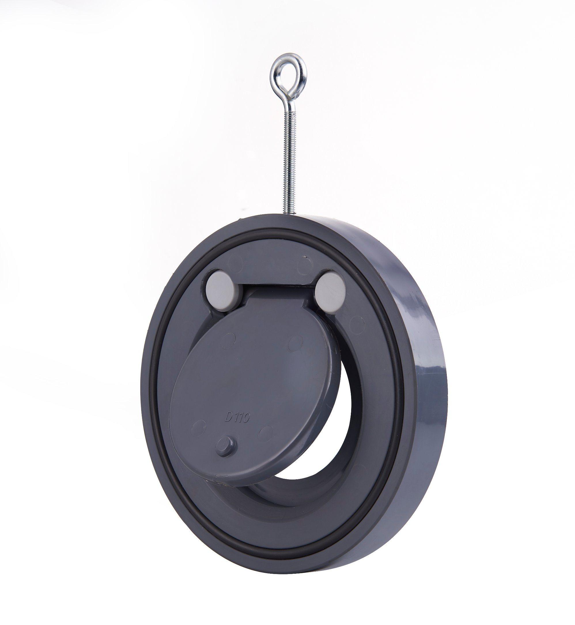 PVC Wafer Check Valve /Gate Valve/Swing Check Valve/Stop Valve/Industrial Valve/Butterfly Valve/Flap Type Valve (Socket)