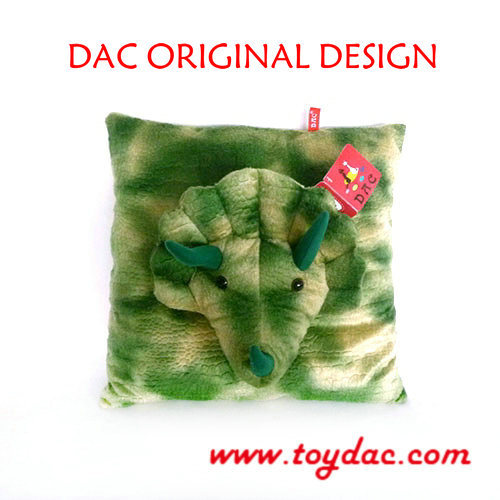 Stuffed Dinosaur Puppet Cushion