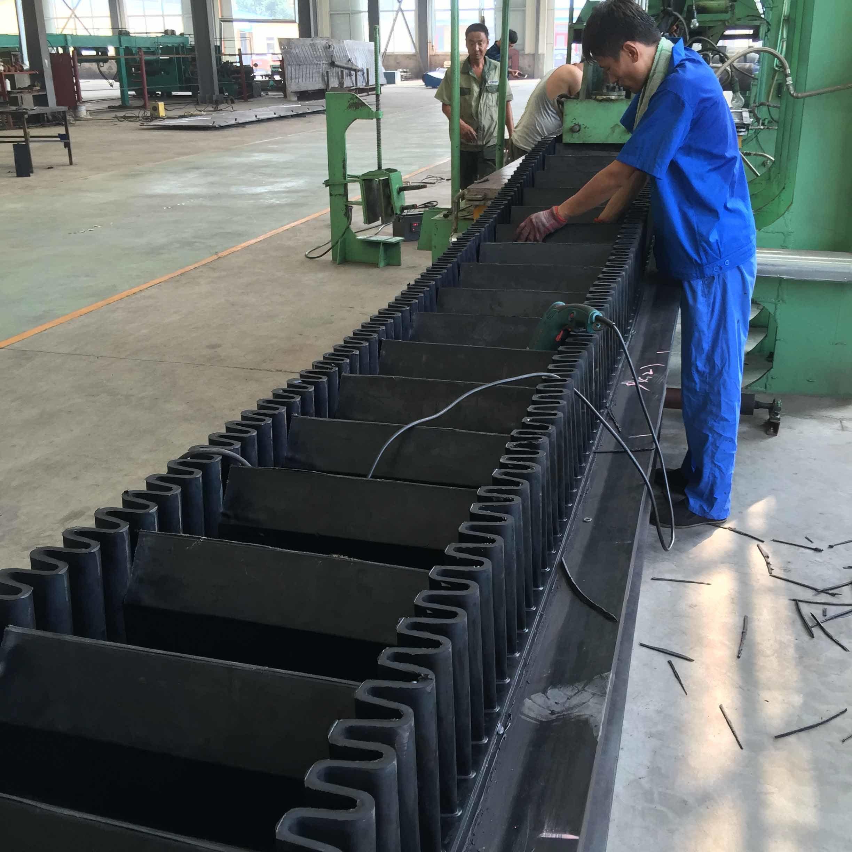 Sidewall Cleated Conveyor Belt, Steep Sidewall Cleated Conveyer Belt